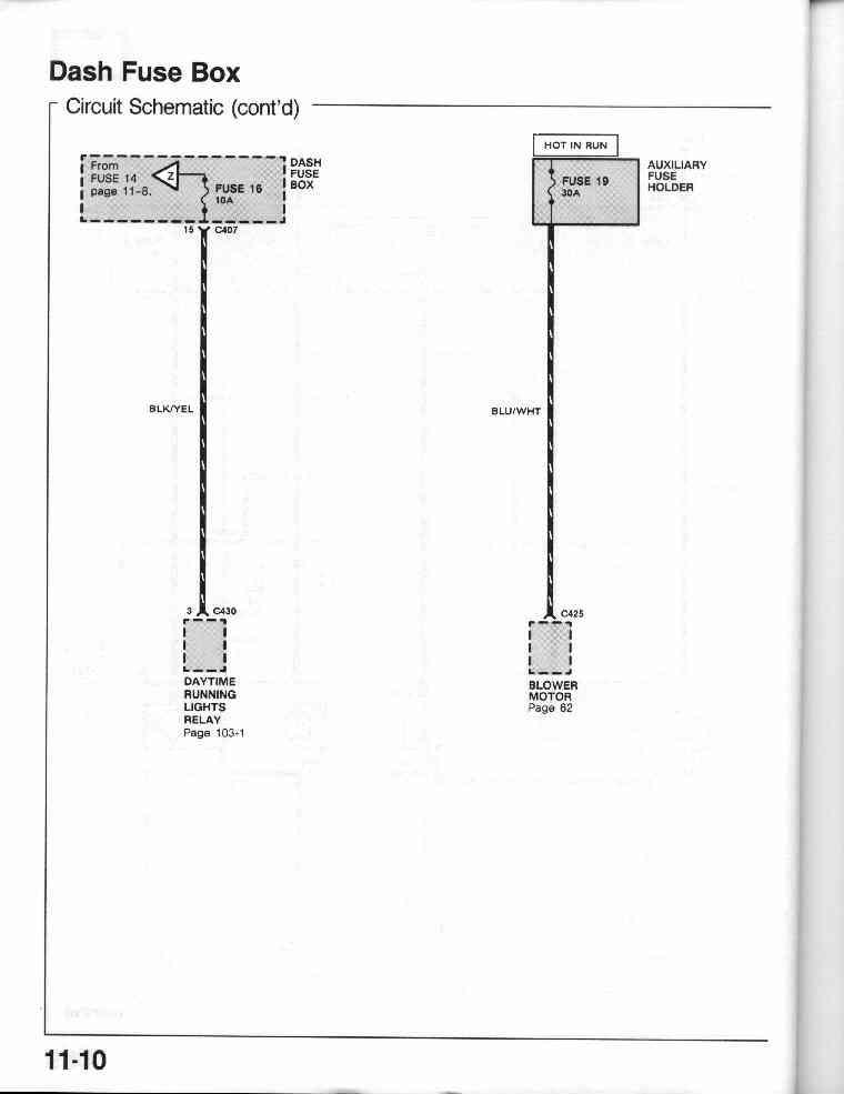 honda fuse box abbreviations honda main fuse wiring